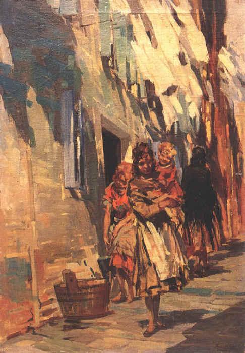 Calle a Venezia