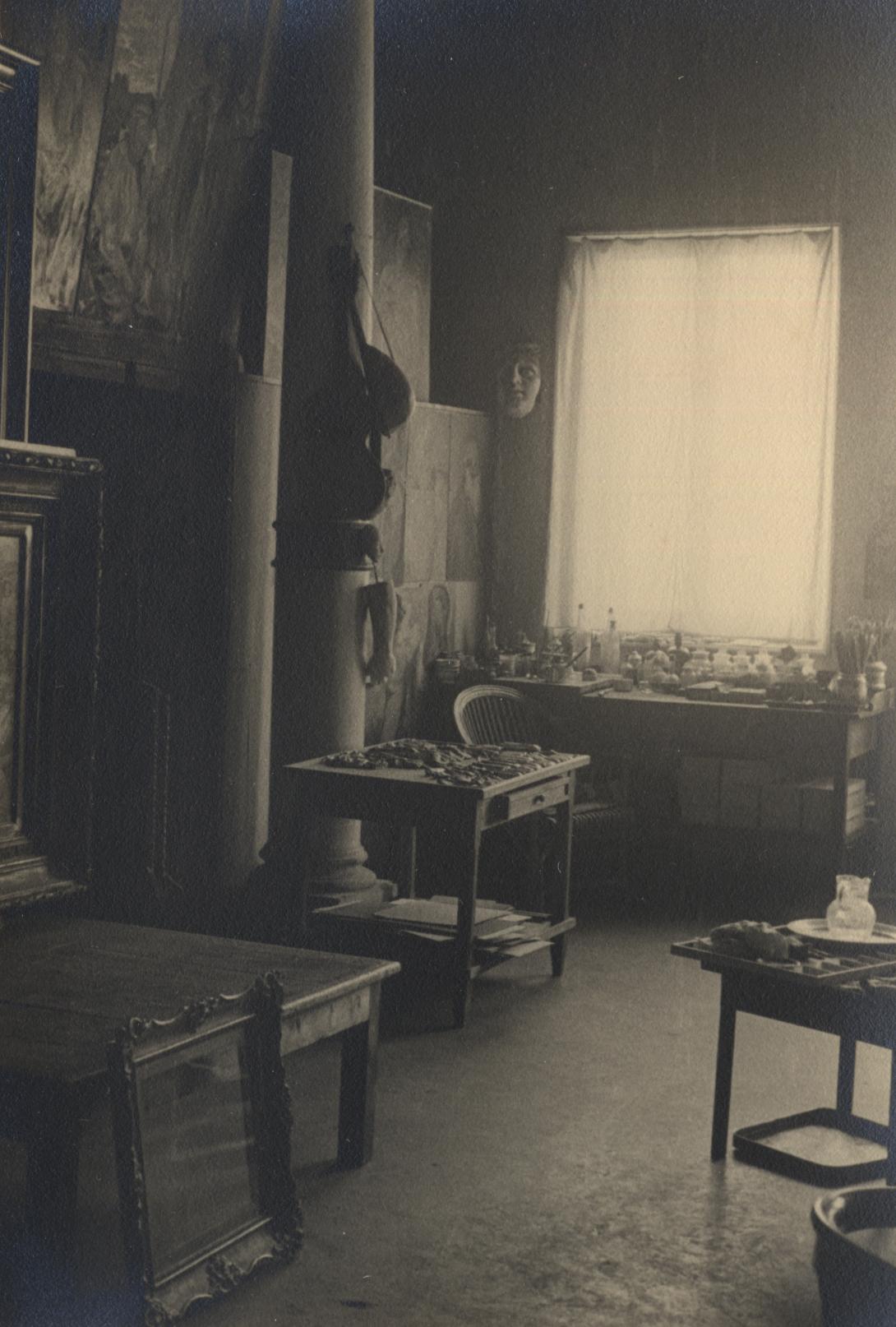 Immagine dello studio del 1925